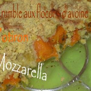 rapide à cuisiner Crumble de flocons d'avoine au potiron cuisiner la recette