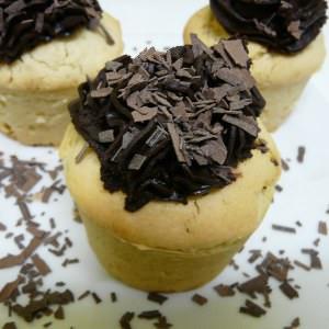 rapide à cuisiner Cupcakes vanille chocolat vegan préparer la recette