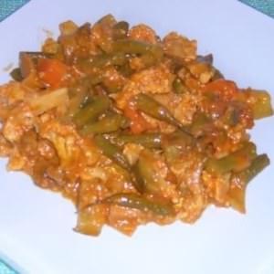facile Curry de légumes au lait de coco recette