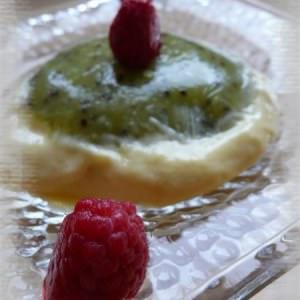 facile à cuisiner Crème mangue-kiwi recette végétarienne