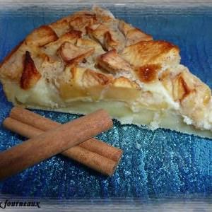 rapide à cuisiner Far aux pommes préparation