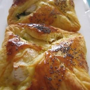 simple à préparer Feuilletés poireaux & camembert préparer la recette