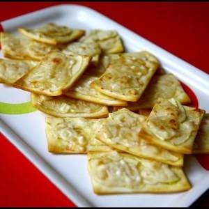 rapide Fines tartelettes Poire-Parmesan recette végétarienne