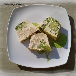 simple à préparer Flan de brocoli et de chou-fleur cuisine végétarienne