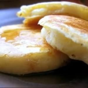 facile à cuisiner Fluffy Pancakes préparation