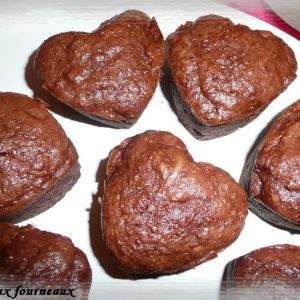 simple à préparer Fondants au chocolat & aux carottes préparation