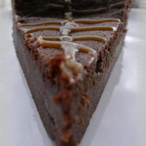 rapide Fondant au chocolat & caramel beurre salé recette végétarienne