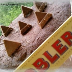 rapide Fondant au chocolat & toblerone craquant recette