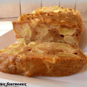 rapide à cuisiner Fondant aux pommes & aux Spéculoos recette végétarienne