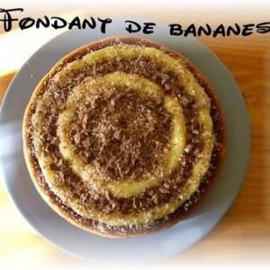 facile Fondant de bananes recette de