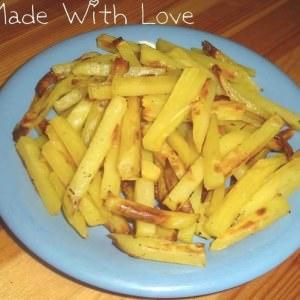 facile Frites au four cuisiner la recette