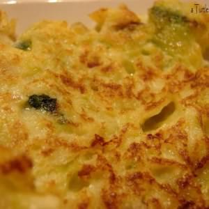 facile Galettes aux courgettes & parmesan recette