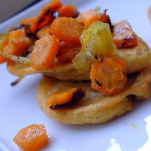 facile à cuisiner Galettes aux lentilles roses à l'indienne recette végétarienne