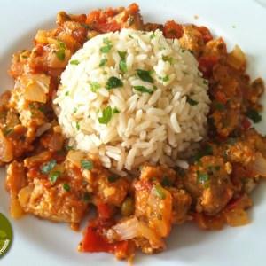 simple à cuisiner Galettes de soja aux légumes et riz complet recette de