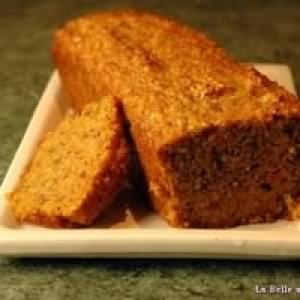 facile à cuisiner Cake aux carottes cuisine végétarienne