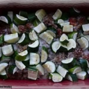 rapide à cuisiner Gratin de courgettes à la cancoillote recette végétarienne