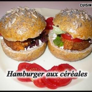 simple à préparer Hamburger aux céréales cuisiner la recette
