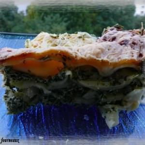 facile à cuisiner Lasagne aux épinards & ricotta recette végétarienne