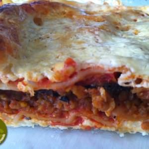 simple à préparer Lasagnes aux aubergines cuisine végétarienne