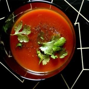 facile à cuisiner Le gaspacho préparer la recette