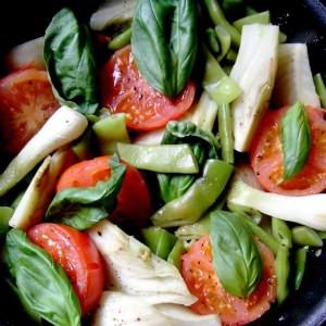 rapide Légumes Primavera préparer la recette