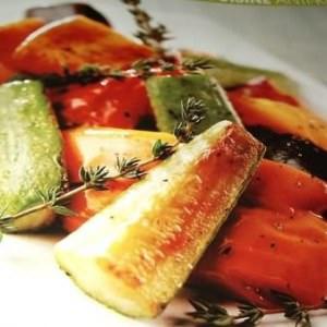 facile Wok de légumes sautés au thym cuisine végétarienne