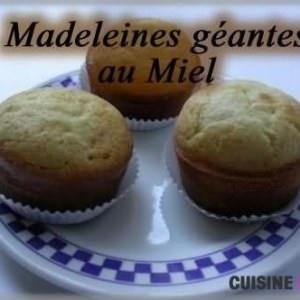 simple à préparer Madeleines au miel recette de