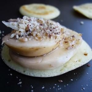 simple à préparer Mini blinis Champinoisettes sans gluten cuisiner la recette