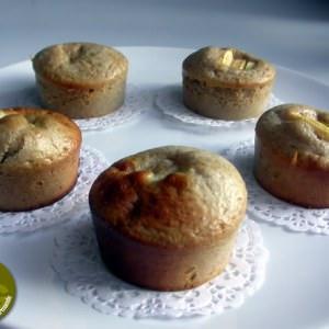 facile à cuisiner Muffins Pommes-Noisettes préparation