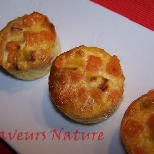 rapide à cuisiner Mini flans de patate douce cuisiner la recette