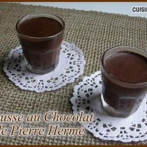 facile Mousse au Chocolat de Pierre Hermé recette