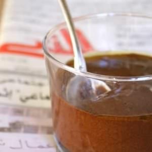 simple à préparer Mousse au chocolat à l'huile d'olive et à la fleur de sel préparation
