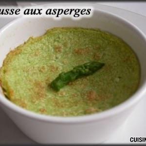 facile à cuisiner Mousse aux asperges recette végétarienne