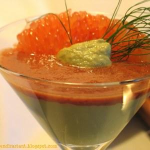 simple à préparer Mousse de Fenouil avec Coulis de Pamplemousse rose, Pomme &... recette