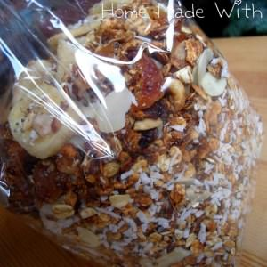 simple à cuisiner Muesli ou granola maison recette végétarienne