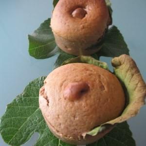 facile Muffins à la figue et à la farine de châtaigne recette de