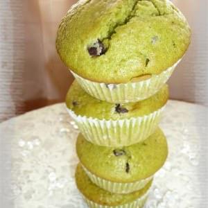 simple à cuisiner Muffins à la pistache & aux pépites de chocolat recette végétarienne