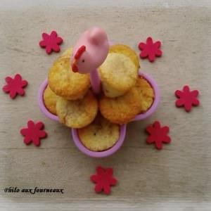 facile Muffins amandes & fraises cuisiner la recette