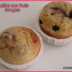 facile Muffins aux Fruits-rouges cuisine végétarienne