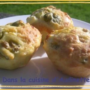 facile à cuisiner Muffins aux Olives et à la Feta cuisine végétarienne
