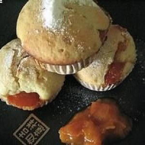simple à cuisiner Muffins aux abricots recette