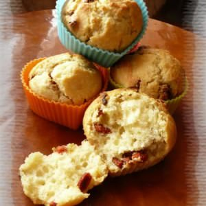 simple à préparer Muffins aux baies de Goji cuisine végétarienne