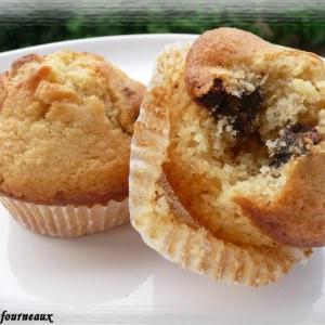 rapide à cuisiner Muffins aux bananes séchées & au chocolat blanc recette de