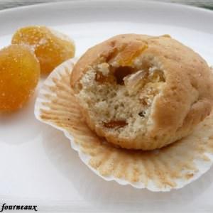 facile Muffins aux kumquats confits & à la fève Tonka préparation