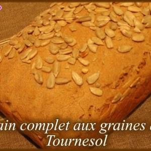 facile Pain complet aux graines de Tournesol recette de
