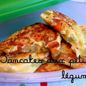 simple à préparer Pancakes aux petits légumes préparer la recette