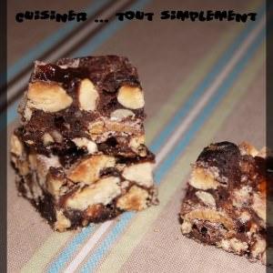 facile Panforte au Chocolat recette végétarienne