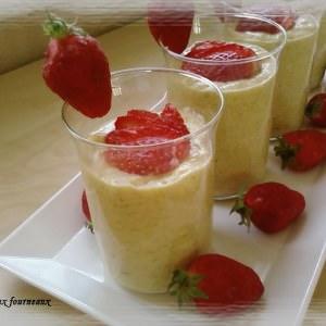 simple à cuisiner Parfait glacé à la mangue recette de