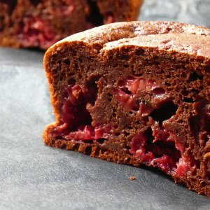 rapide Petits Gâteaux au Cacao et Framboises préparation