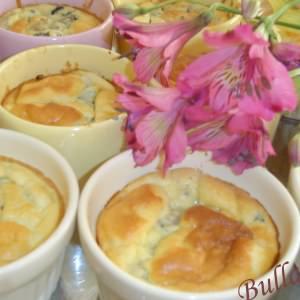 simple à préparer Soufflés de blettes à la ciboulette et au parmesan préparation